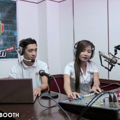 RADIO STATION BOOTH